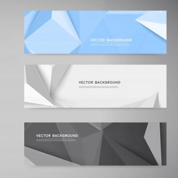 सेट के वेक्टर बैनर या हेडर में ग्रे  नीले और सफेद के साथ टेक्स , 3 डी, सार, पृष्ठभूमि पृष्ठभूमि छवि