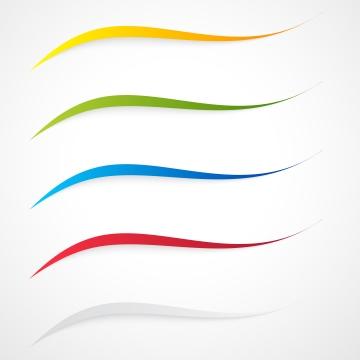 矢量抽象白色背景顏色波浪設計或藍色 , 橫幅, 技術, 綠色 背景圖片