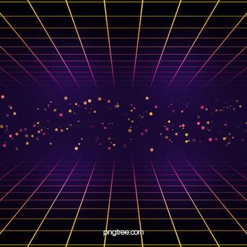 ネオン格子の背景 , 発光する, 円点, 格子 背景画像