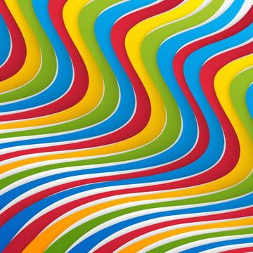 矢量白色背景與抽象波浪設計 , 矢量, 波, 線條 背景圖片