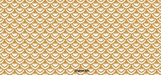 पीले रंग की क्लासिक मछली पैमाने पैटर्न पृष्ठभूमि, शास्त्रीय, टाइल, सरल पृष्ठभूमि छवि
