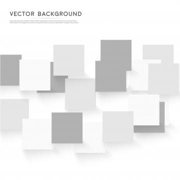 ジー 灰色の正方形の抽象的なパターンとベクトルの白い背景 , 3 D, 抄録, 抽象化 背景画像