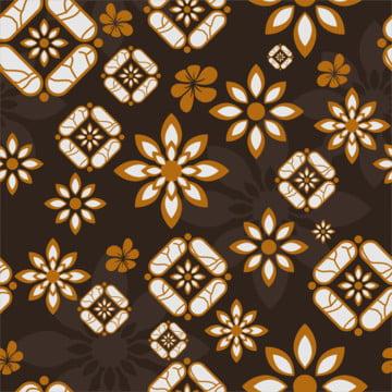 विंटेज इंडोनेशियाई batik ज्यामितीय आकृतियों के साथ और फूल निर्बाध पैटर्न , सार, अफ्रीकी, एज़्टेक पृष्ठभूमि छवि
