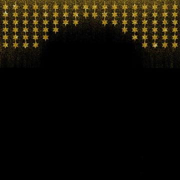 배경 금광성 화환 , 배경, 검은, 경계 배경 이미지