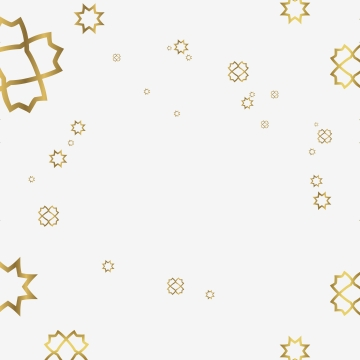 background of geometric patterns  themed in islam and gold in arabic  arranged irregularly , Gold, Geometric, Frame Background image