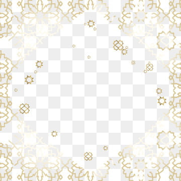 frame of geometric pattern background  with the theme of islam and gold in arabic  with a number of demage side looks , Gold, Geometric, Frame Background image