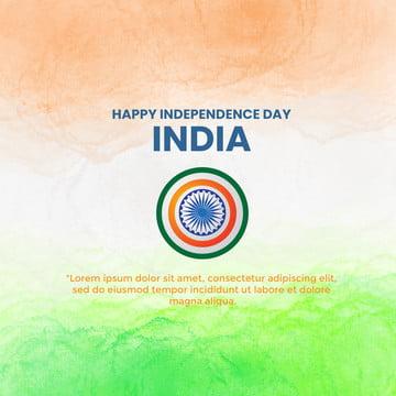 हैप्पी स्वतंत्रता दिवस भारत बैनर टेम्पलेट , अशोक, अगस्त, पृष्ठभूमि पृष्ठभूमि छवि