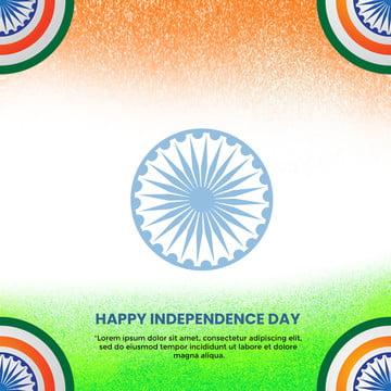 भारत स्वतंत्रता दिवस ग्रीटिंग बैनर पृष्ठभूमि टेम्पलेट , अशोक, अगस्त, पृष्ठभूमि पृष्ठभूमि छवि