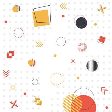 白い背景の上にメンフィスのパターンの80  sのスタイルベクターグラフィック , 80年代, 抄録, アート 背景画像
