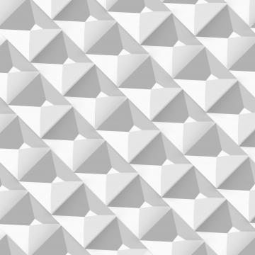 वेक्टर सफेद पृष्ठभूमि के साथ अमूर्त ज्यामितीय पैटर्न के 3 डी टी आर , 3 डी, सार, अमूर्त पृष्ठभूमि छवि