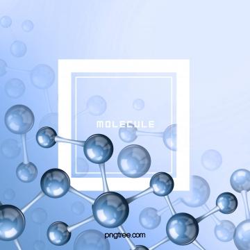 Giá trị màu xanh dương tinh thể vi phân tử Phân Tử Kinh Hình Nền