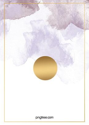 紫色 晕染 金箔 水彩 背景 , 水彩, 金箔, 紫色 पृष्ठभूमि छवि