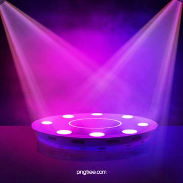 3 chiều chiếc đèn neon phát sáng nền sân khấu hình học trừu tượng , Hiệu ứng ánh Sáng đẹp Và Phong Cách, Hiệu ứng Khói, Hình Học Ảnh nền