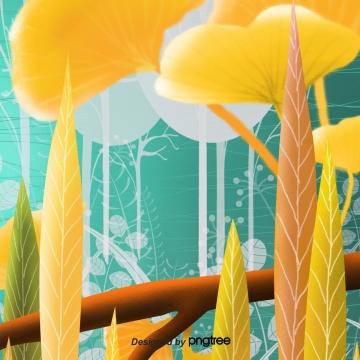 पतझड़ के सुनहरे पौधे पेड़ पौधे , शरद ऋतु, Golden, संयंत्र पृष्ठभूमि छवि