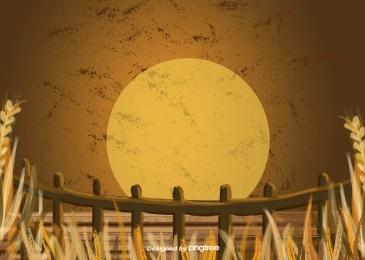 秋天植物草草籬芭, 秋季, 植物, 草 背景圖片