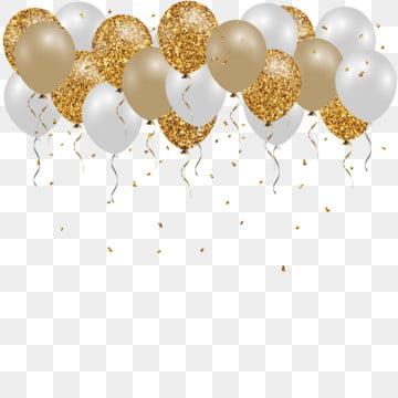 день рождения конфетти шар вектор фон , фея, повешение, границы Фоновый рисунок