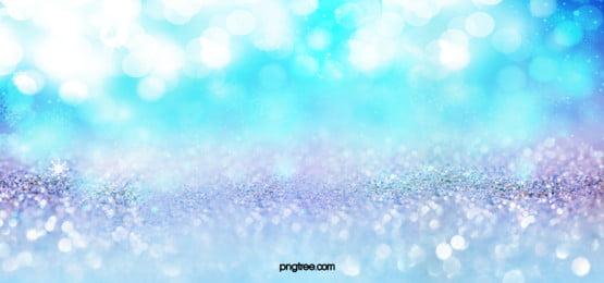 푸른 꿈의 공간 감광 명소 입자 배경, 동그라미, 야경, 늦은 빛 배경 이미지