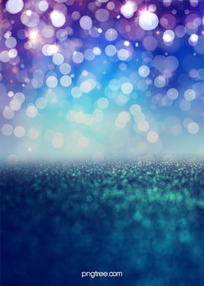 blue light effect dot high end background , Beautiful, Twinkle, Sense Of Space Background image