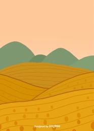 พรรณไม้ในถิ่นทุรกันดารสีน้ำตาล , Brown, เขตผลิต, พืช ภาพพื้นหลัง