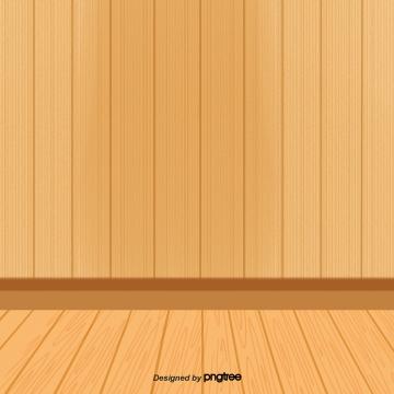 cảnh phim hoạt hình nhà sàn với giấy dán tường , Giấy Dán Tường, Gỗ, Sàn Nhà Ảnh nền