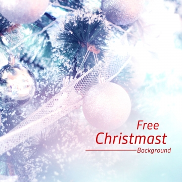 christmas pine tree  ball  silver ribbon in white snow background wallpaper , Christmas, Celebration, Wish Background image