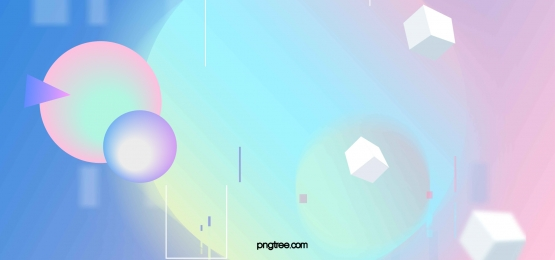 Colorful Gradual Stereo Geometry Background, Dazzle, Gradual Stereo, Square Script Background image