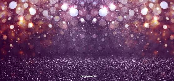 深紫色彩色光斑粒子空間感背景, 光效, 光暈, 光輝 背景圖片