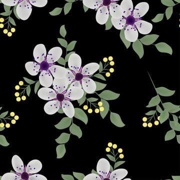 無縫花紋與紫色櫻花 , 模式, 花的, 背景 背景圖片