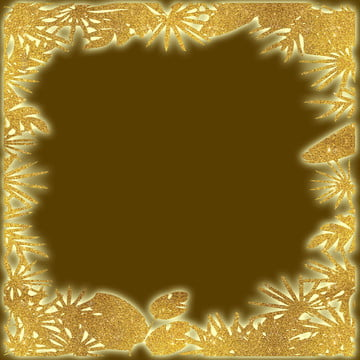 혼합 된 나무의 황금 반짝이 테두리 , 배경, 검은, 밝다 배경 이미지