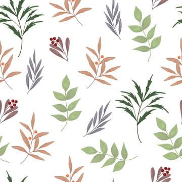 녹지 잎 원활한 패턴 베리 격리 된 흰색 배경 , 식물, 셔츠, 틈이 없다. 배경 이미지
