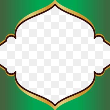 इस्लामिक फ्रेम में एक हरी मस्जिद गुंबद की अवधारणा है , इस्लामी, डिजाइन, फ्रेम पृष्ठभूमि छवि
