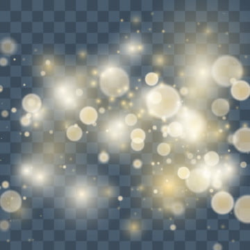 magical light sparkle effect glow on black transparent background , Light, Gold, Magic Background image