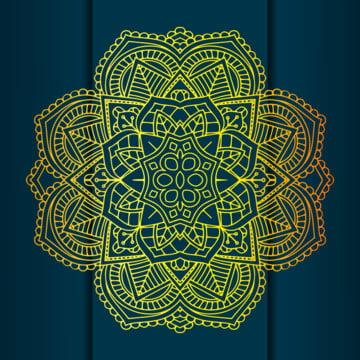 الزهور ماندالا العرقية مع خلفية مظلمة لبطاقة العمل , خلاصة, تجريد, العربية صور الخلفية