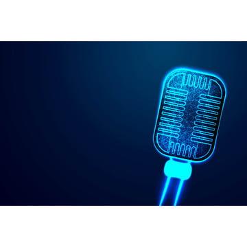 микрофон микрофон анонсировать концепцию абстрактная низкополигональная каркас , объект, пустой, дизайн Фоновый рисунок