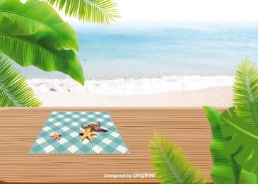 bãi biển  nhà máy bãi biển  lá, Đại Dương, Bãi Biển, Beach Ảnh nền