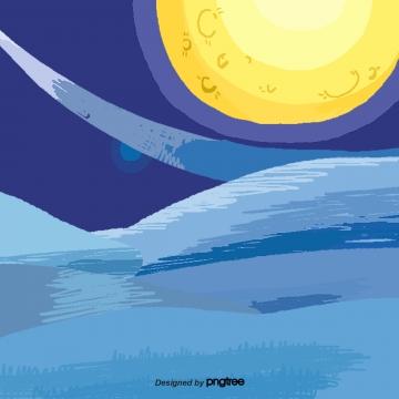 बाहरी अंतरिक्ष पीला चाँद दृश्य , बाह्य अंतरिक्ष, पीले, चाँद पृष्ठभूमि छवि