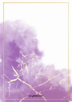 Purple smudged gold foil watercolor background , Gold Foil, Golden, Watercolor Background image