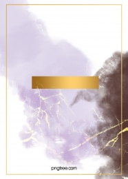 Purple smudged watercolor gold foil background , Watercolor, Violet, Gold Foil Background image
