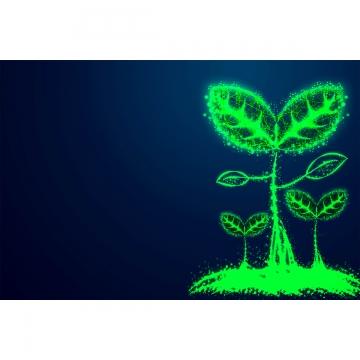 hạt giống khái niệm kinh doanh trồng cây từ dòng và hình tam giác , Kinh Doanh., Cây, Tăng Trưởng Ảnh nền