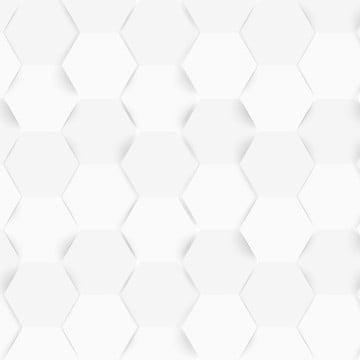 latar belakang putih abstrak vektor dengan reka bentuk geometri segi enam , Hexagon, Corak, Sarang Lebah imej latar belakang