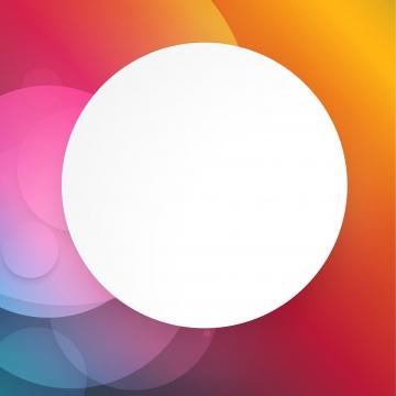 矢量彩色背景與白色抽象幾何設計 , 背景, 圓圈, 白 背景圖片