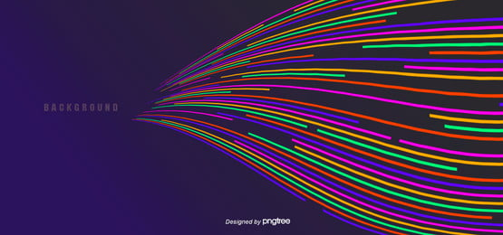 colored abstract broken lines gather convergence lines, Color, Abstract, Art Background image