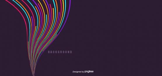 Đầy màu sắc bao quanh nền 3d sáng tạo, Color, Nghệ Thuật, Đường Nét Ảnh nền