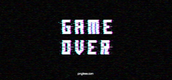 fault style black and white game end background, Glitch Appearance, Black Background, White Character Background image