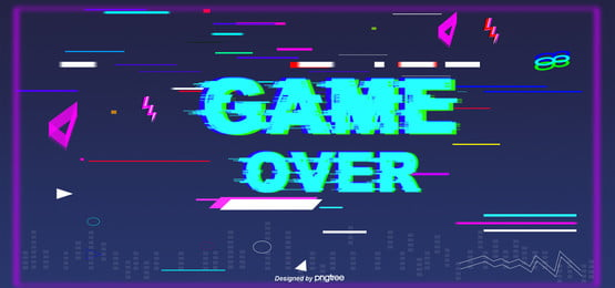 game end fault wind, Glitch, Game, End Background image