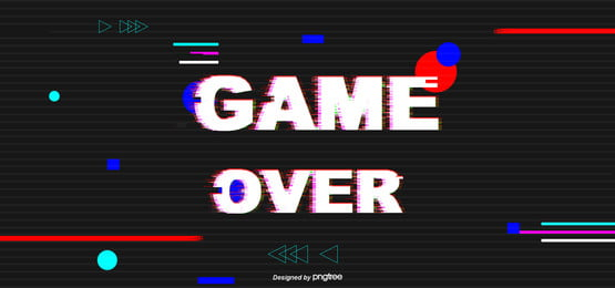 Game End Fault Wind, Glitch, Game, End Background Image for Free