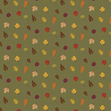 हरे रंग की पृष्ठभूमि पर अलग थलग सुंदर रंगीन शरद ऋतु के पत्तों का संग्रह , शरद ऋतु, पैटर्न, पत्ते पृष्ठभूमि छवि