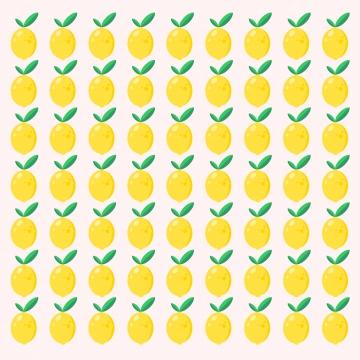 lemon patternベクターグラフィック , レモン, フルーツ, 背景 背景画像