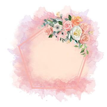 fundo aquarela flor vintage , Pastel, Aquarela, Flor Imagem de fundo