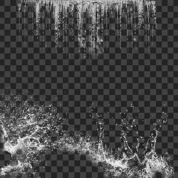 nước rơi trong suốt , Nước, 泼洒, Trong Suốt Ảnh nền